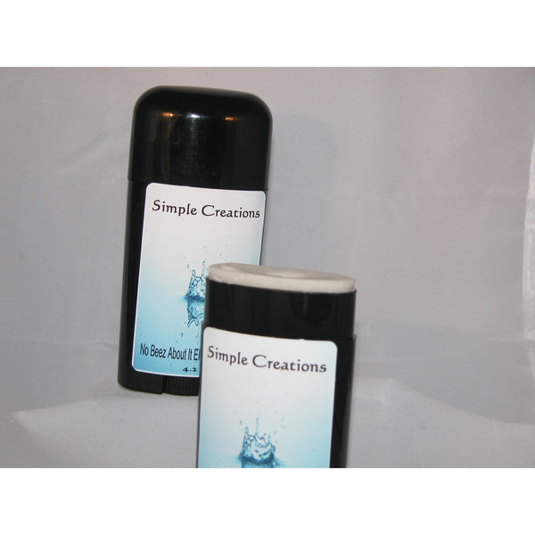 No Beez About It Deodorant for Men (Vegan-Friendly and Made for Sensitive Skin) Simple Creations
