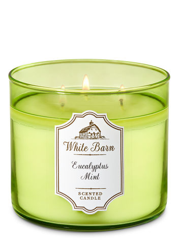 mint scented candle