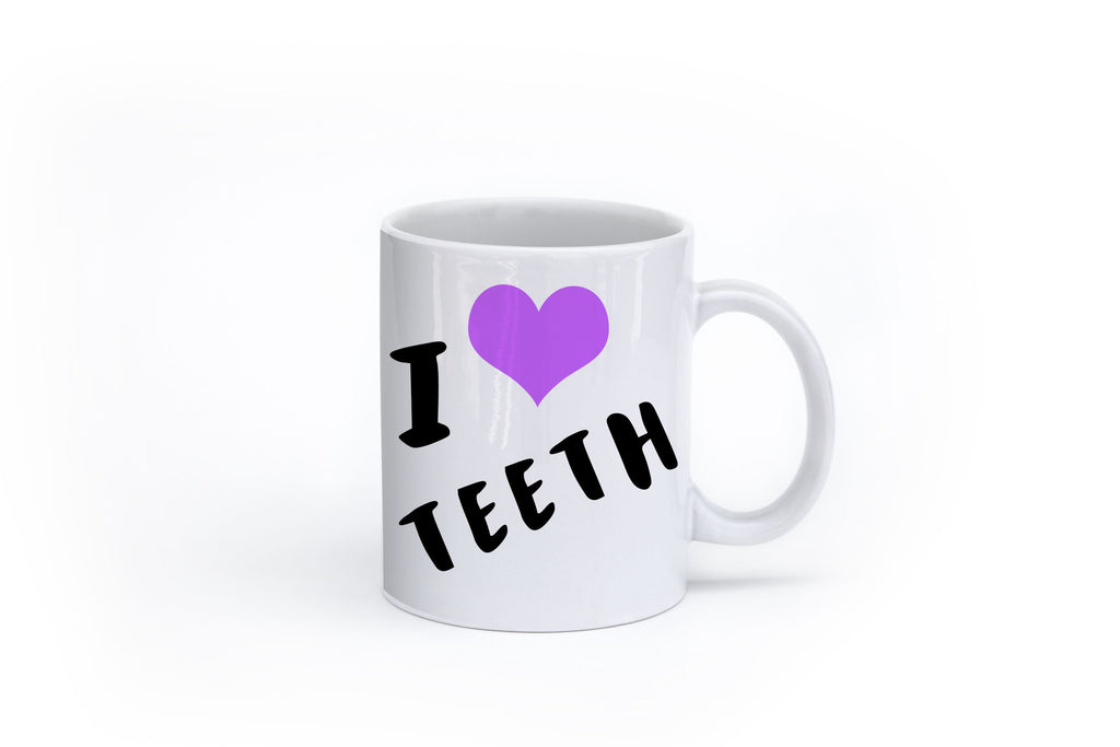I Heart Teeth Mug