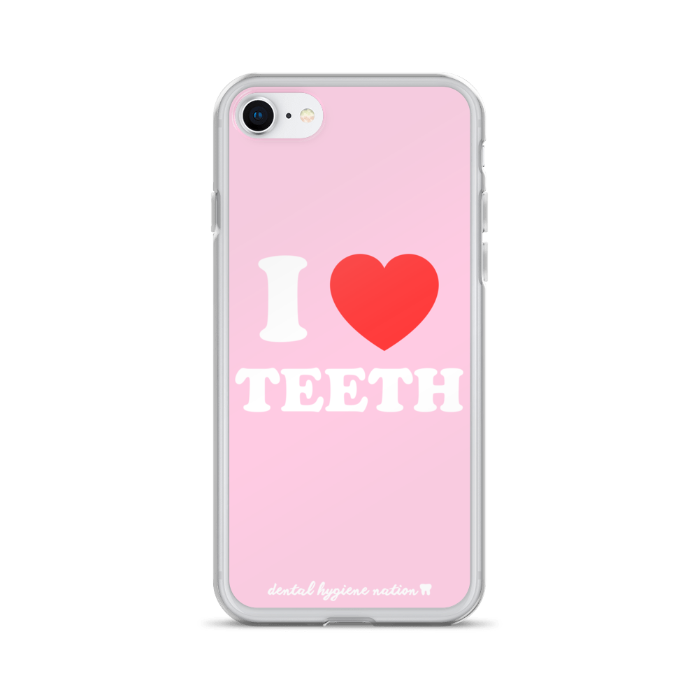I Heart Teeth (iPhone 6/7/8/X)