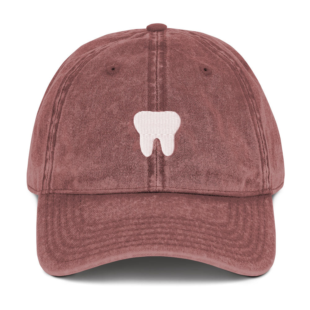 Tooth Hat - Maroon