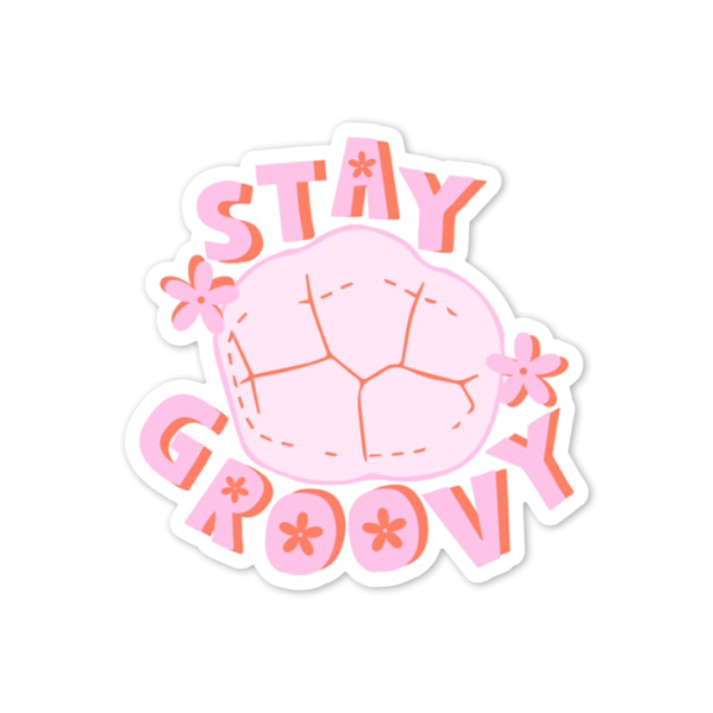 Stay Groovy Sticker
