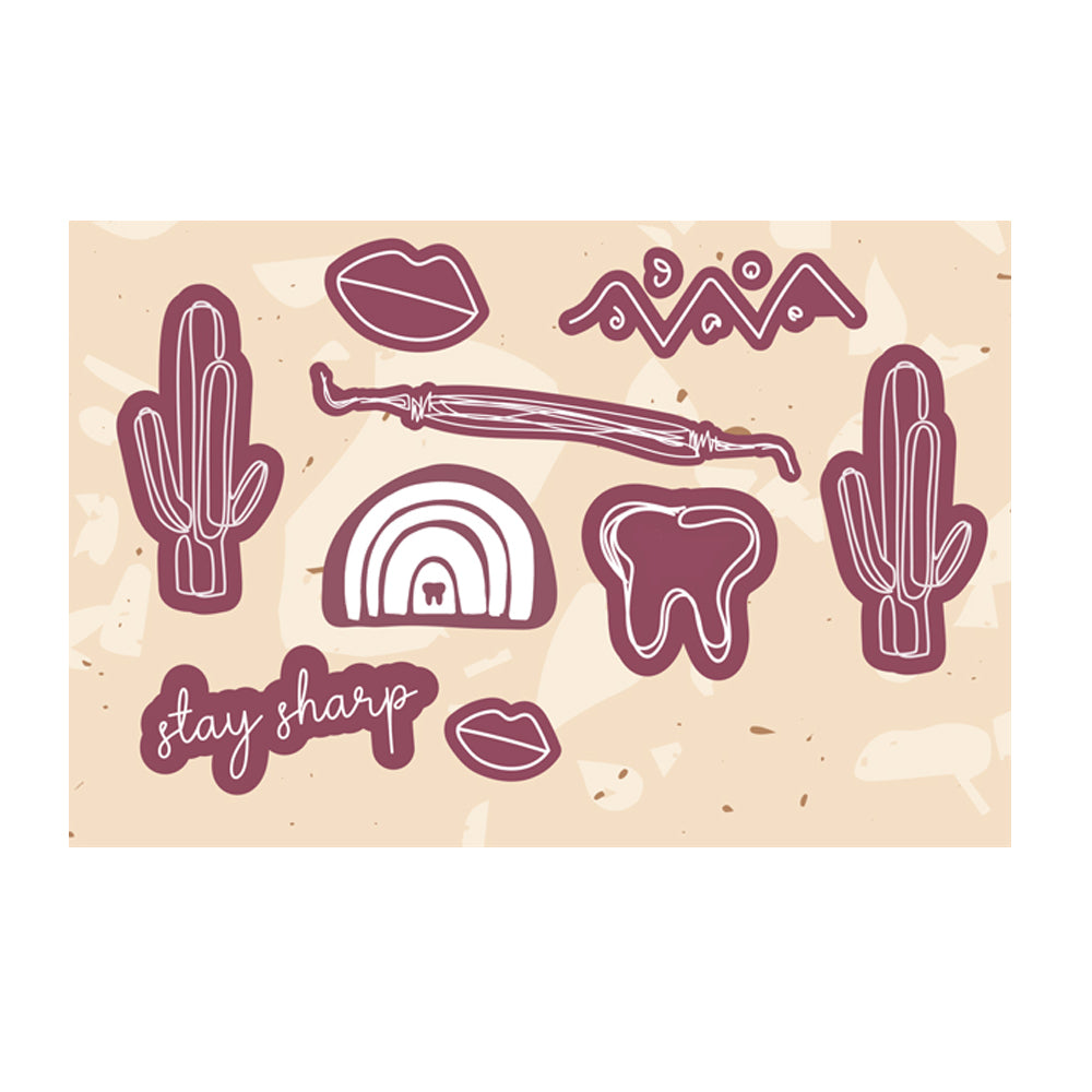 Desert Sticker Sheet