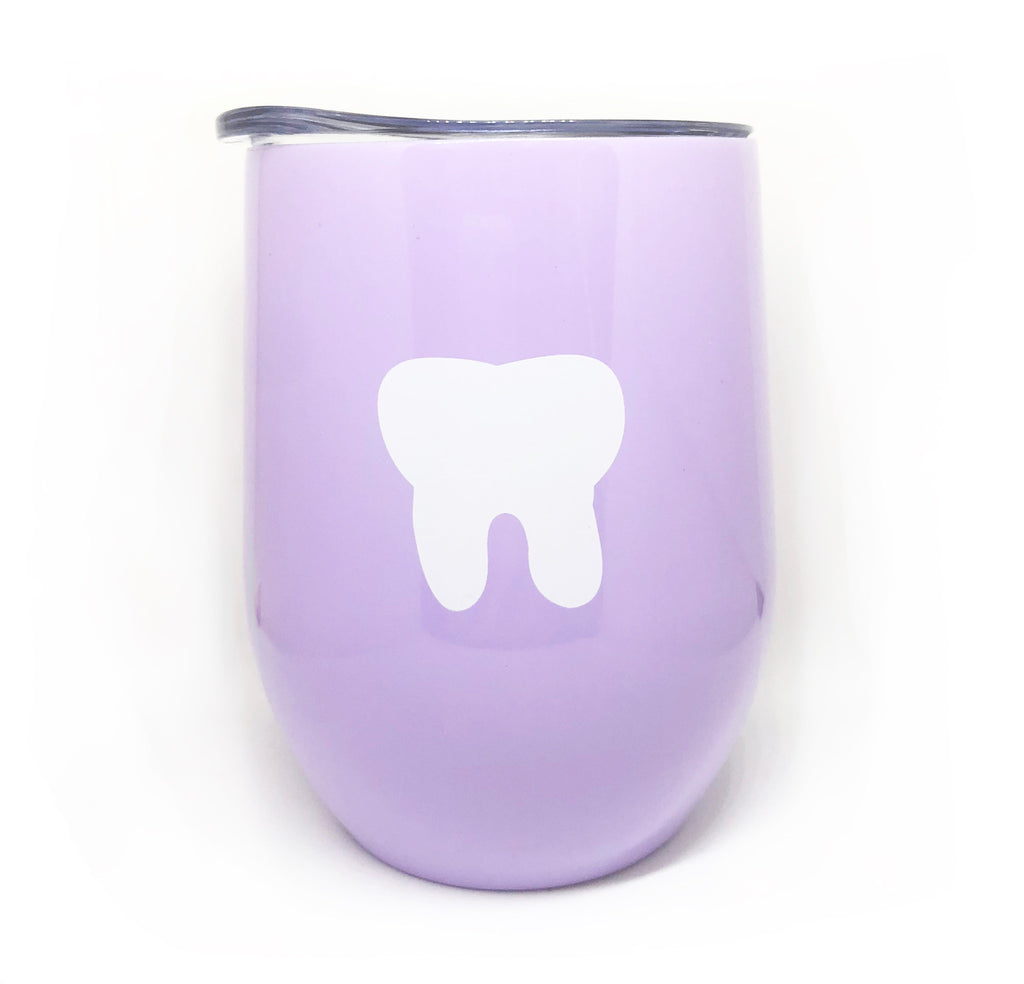 Tooth Lovers Wine Glass