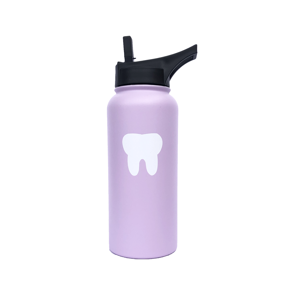Dental Purple Water Bottle