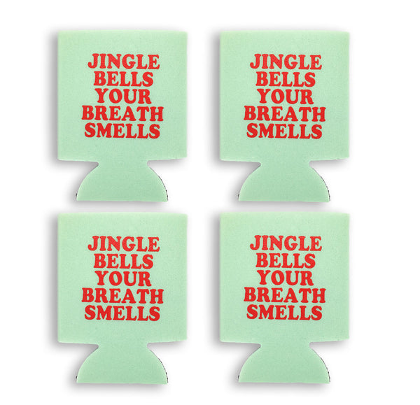 Jingle Bells Koozie - 4PK