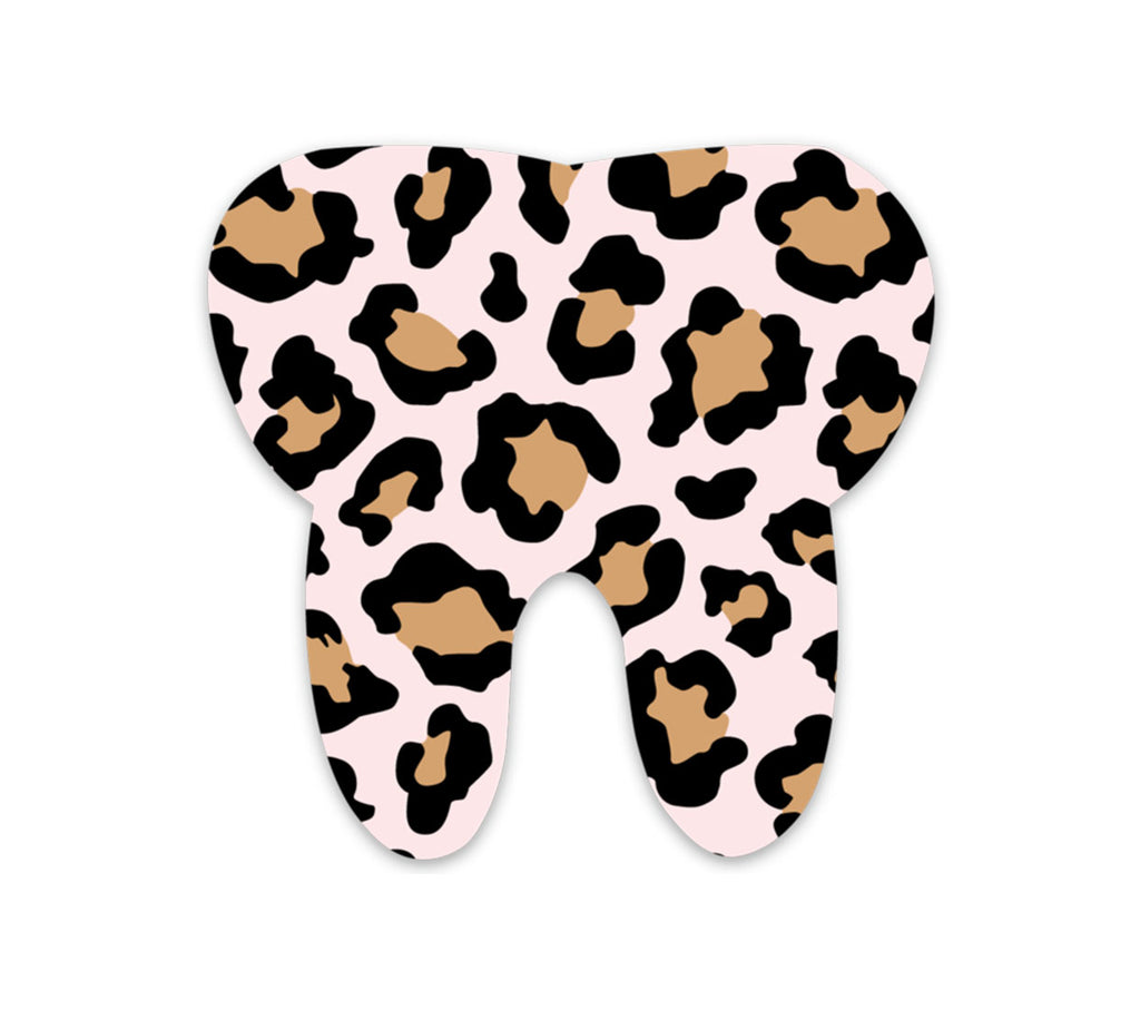 Toothy Leopard Sticker