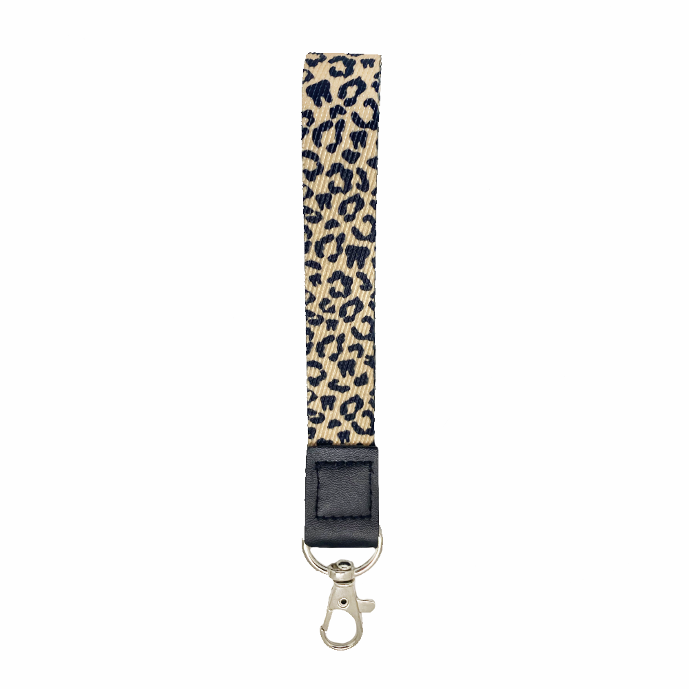 Leopard Tooth Wrist Lanyard