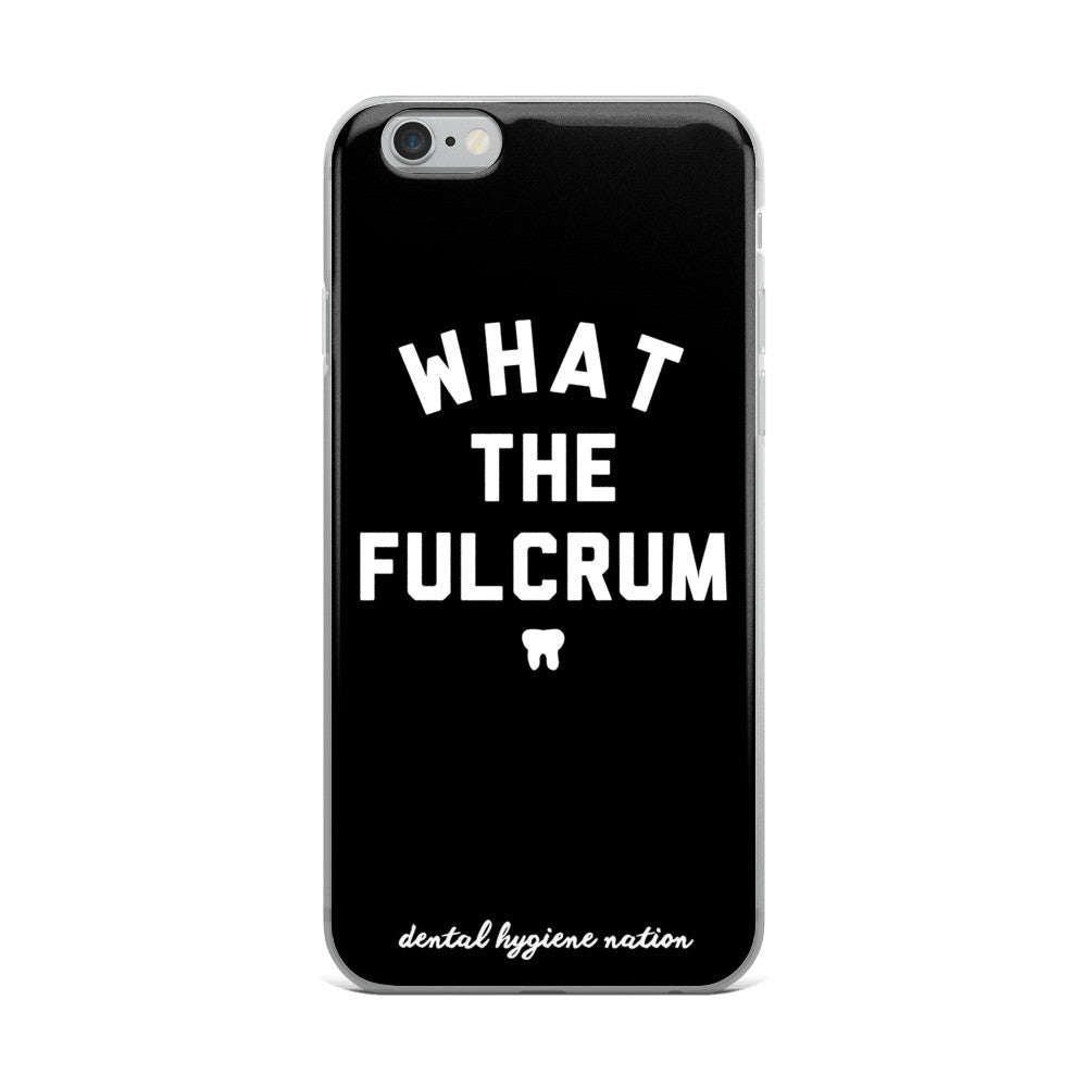 Fulcrum iPhone Case