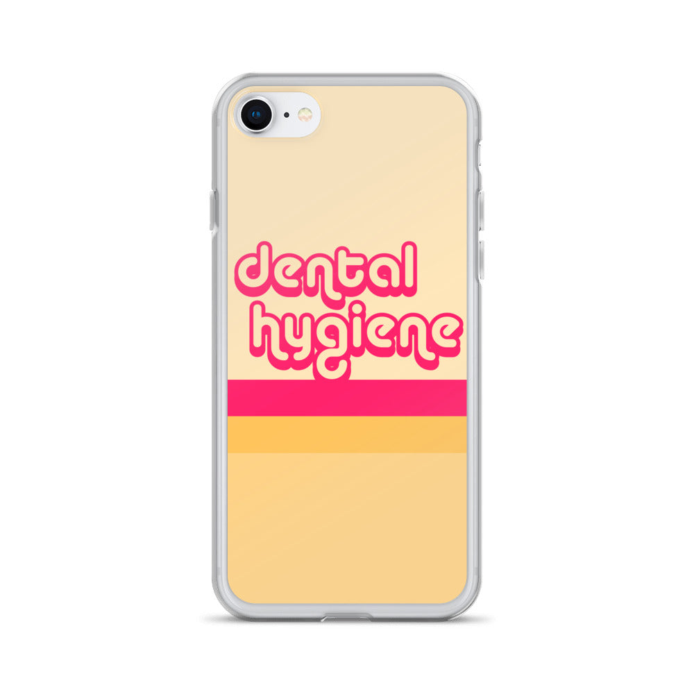 Retro Dental Hygiene iPhone Case