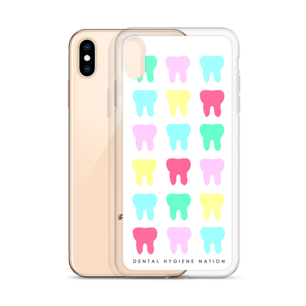 Toothy White iPhone Case