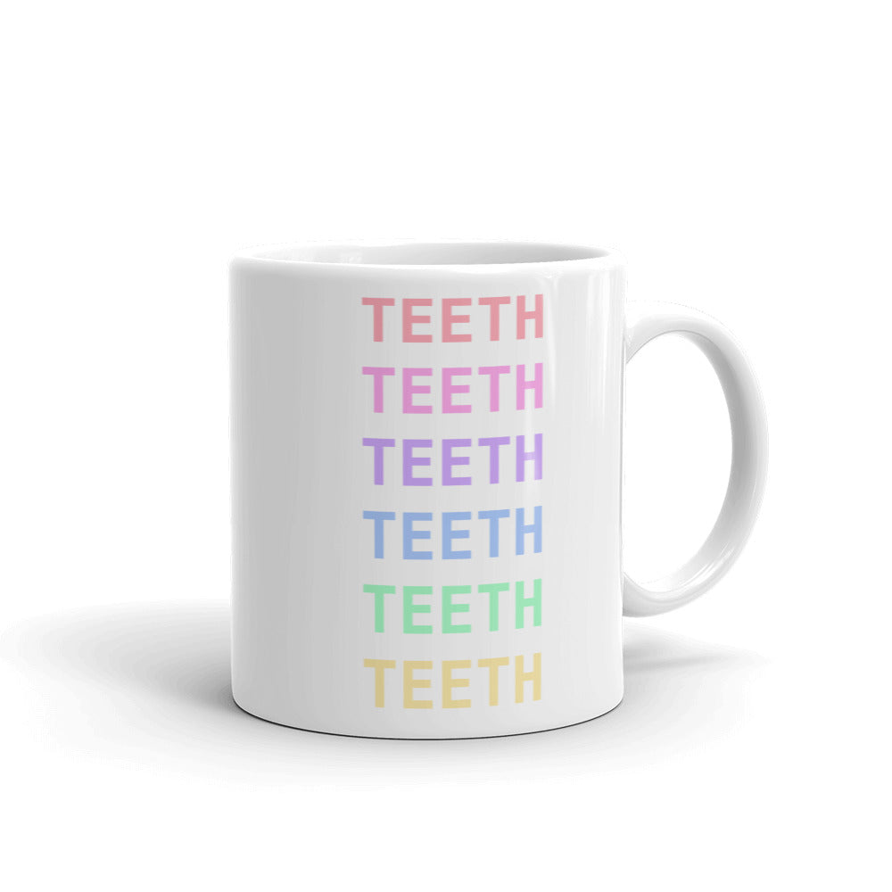Rainbow Teeth Mug