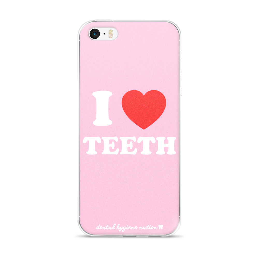 I Heart Teeth iPhone Case