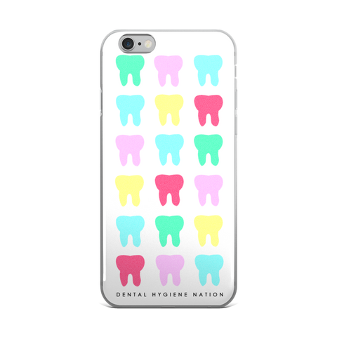Toothy White iPhone Case (5/6/7)