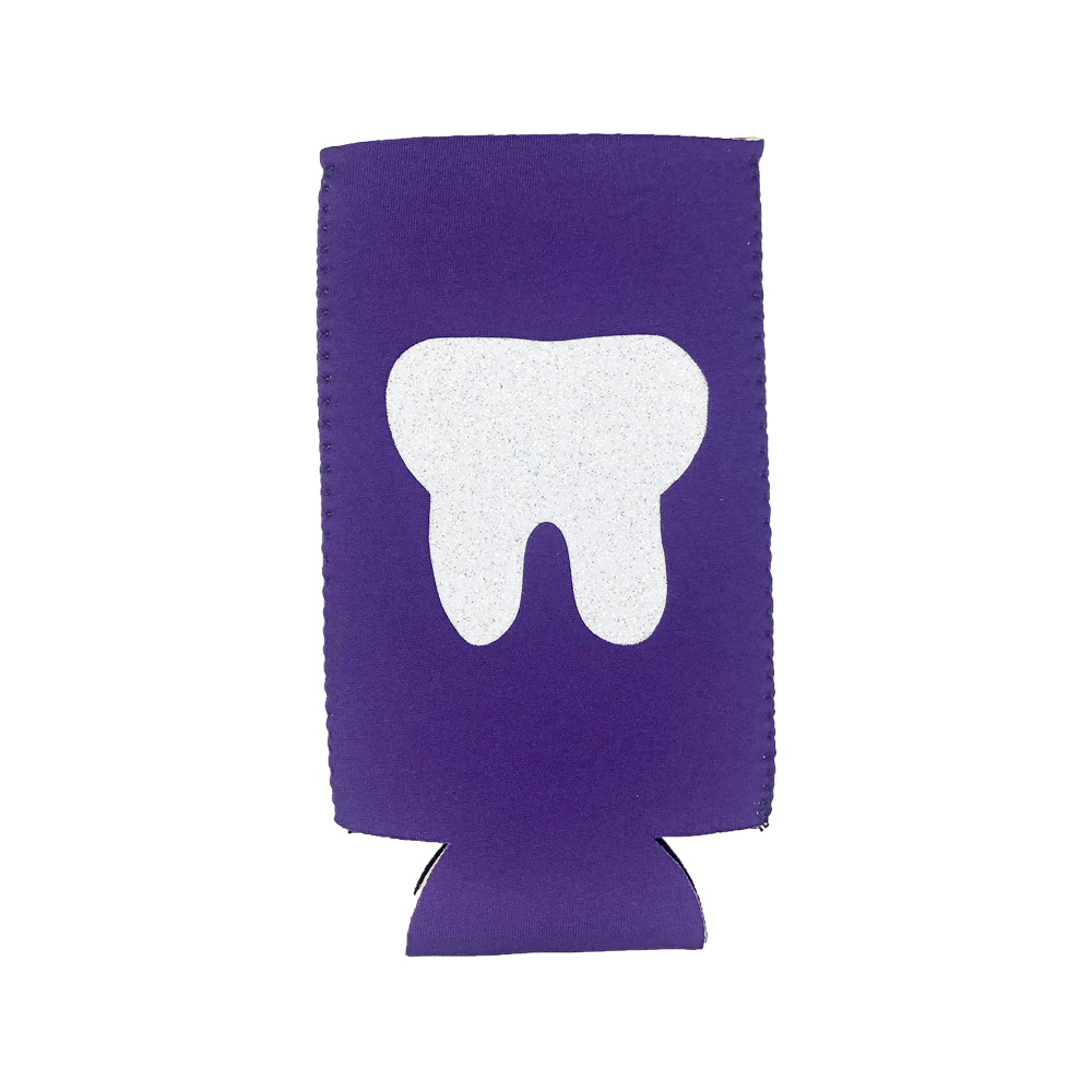 Purple Slim Koozie