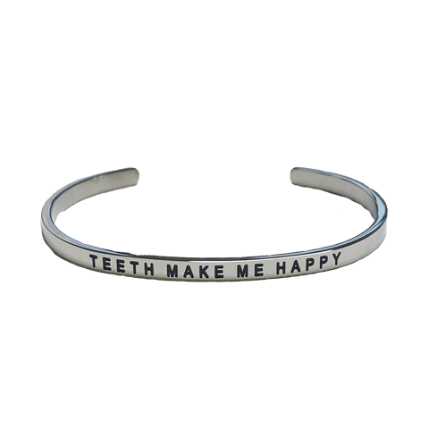 Teeth Make Me Happy Bracelet