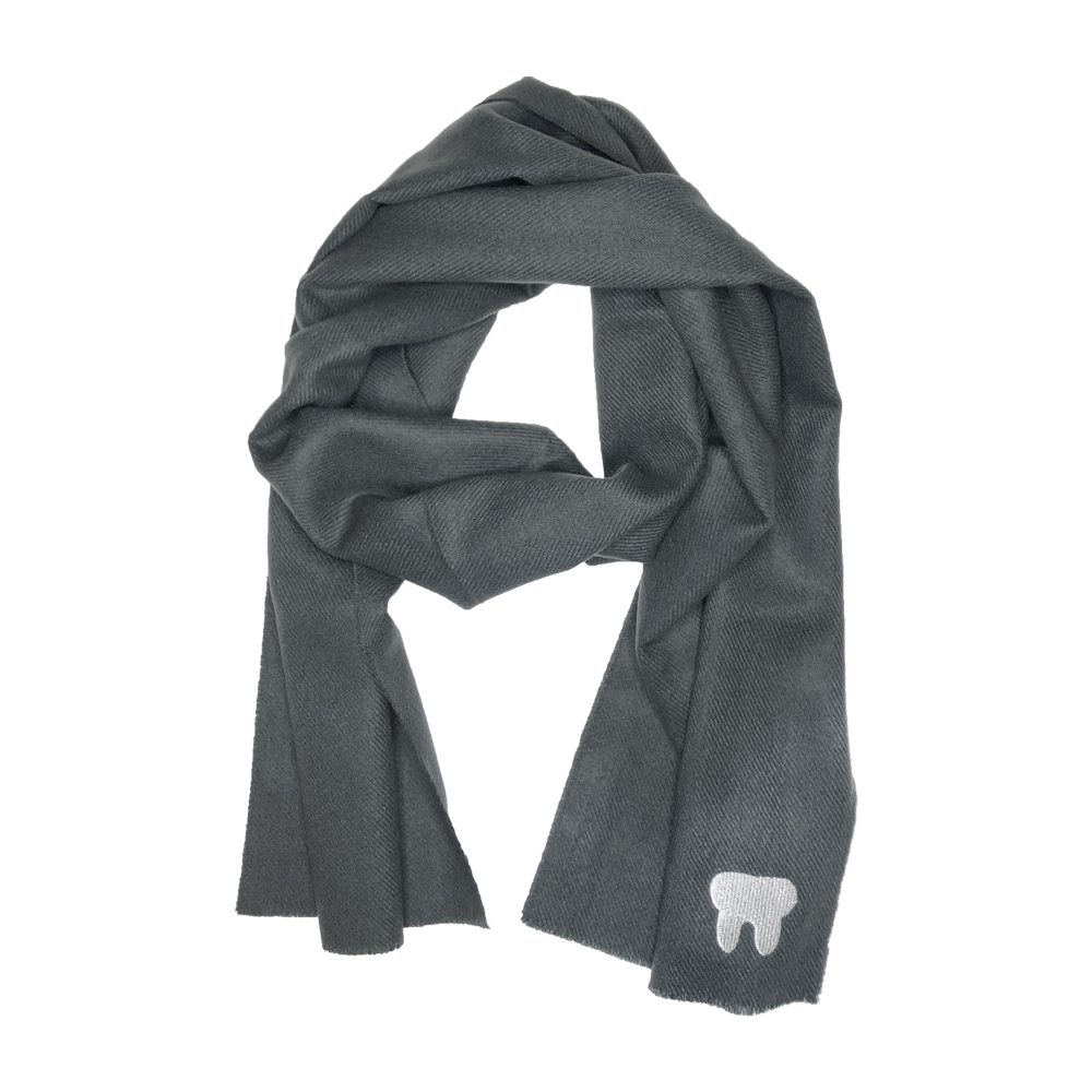 Silver Tooth Scarf