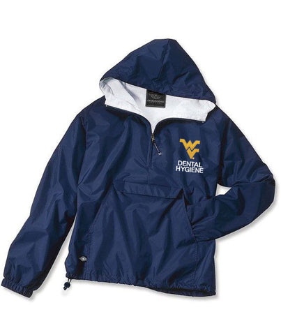 WVU Embroidered Rain Jacket