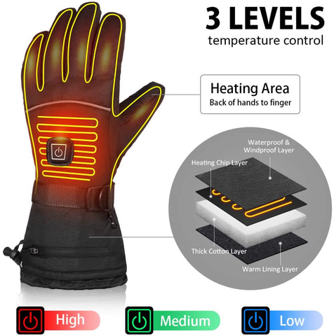 winter electric gloves