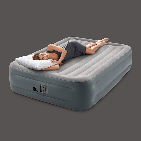airbed with internal air pump