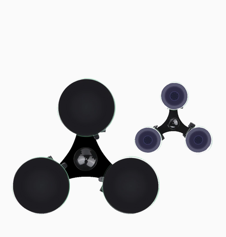 suction cup tripod mount