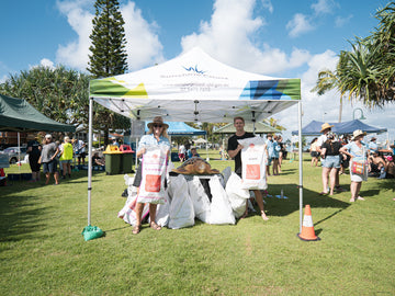 400 malt bags reused for epic Sunshine Coast clean up | Your Mates Brewing Co.