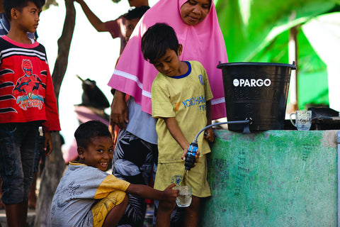 project pargo water filter