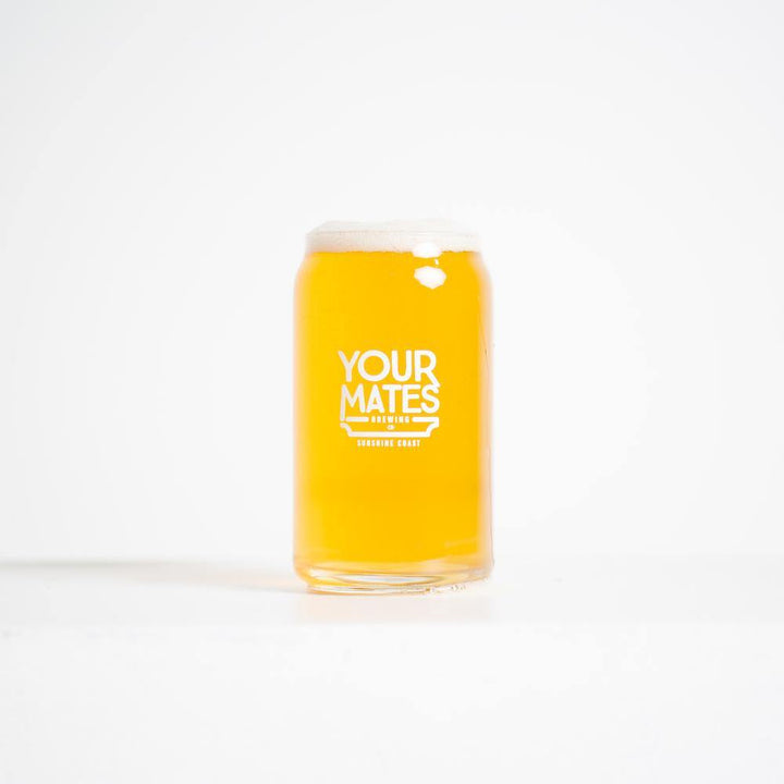 YM 470mL Tinnie Glass - Your Mates Brewing