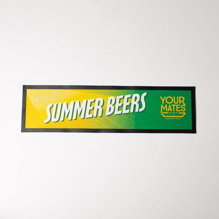 Summer Beers Bar Runner - Your Mates Brewing