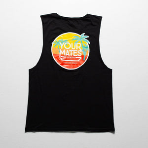 Classic Logo Tank | Black - Your Mates Brewing