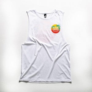 Classic Logo Tank | White - Your Mates Brewing