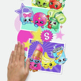 Better Together SHOPKINS 1 Giant Wall Decal Graphic - 2 Feet Tall Mural Kids room Stickers