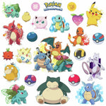 Iconic Pokemon Wall Decals Pikachu Pokeball Room Decor Stickers - EonShoppee