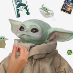 The Mandalorian: The Child Peel and Stick Wall Decals 25 Baby Yoda Wall Stickers