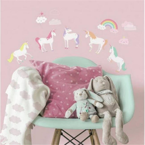 Unicorn Magic Peel & Stick Wall Decals - EonShoppee