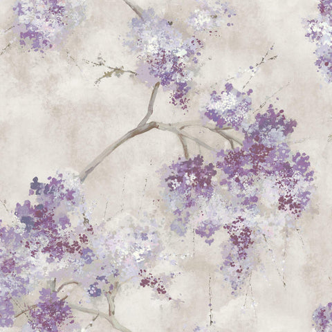 Weeping Cherry Tree Blossom Peel & Stick Wallpaper - EonShoppee