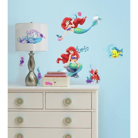 Disney The Little Mermaid Peel & Stick Wall Decals
