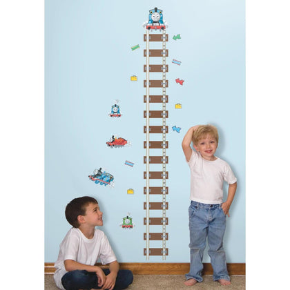 Thomas & Friends Growth Chart Peel And Stick Giant Wall Decals - EonShoppee