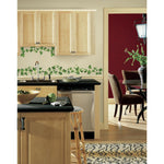 Painterly Ivy VINES Peel & Stick WALL DECALS Kitchen Leaves Stickers Vine & Leaf Decor