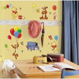 Disney WINNIE THE POOH 38 Peel & Stick Wall Stickers Tigger Eeyore Room Decor Decals - EonShoppee