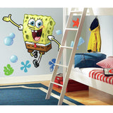 Spongebob Squarepants Peel And Stick Giant Wall Decals - EonShoppee