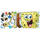SPONGEBOB SQUAREPANTS Giant Wall Decals Nickelodeon Mural Kids Room Decor Stickers
