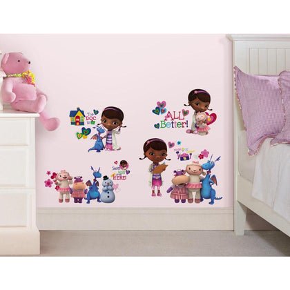 Disney Doc McStuffins Peel And Stick Wall Decals - EonShoppee
