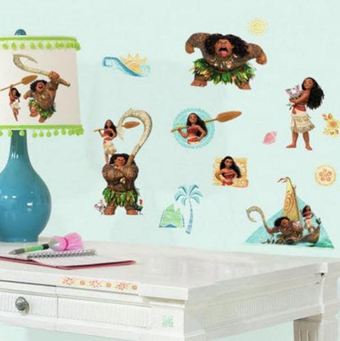 Disney Moana Peel and Stick Wall Decals - EonShoppee