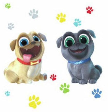 PUPPY DOG PALS Peel And Stick Giant Wall Decals - EonShoppee