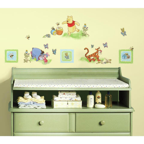 Disney Winnie The Pooh Peel And Stick Wall Decals - EonShoppee