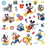 Mickey Mouse Clubhouse CAPERS 31 Wall Decals Donald Pluto Disney Room Stickers