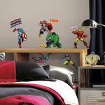 Marvel Classic Superheroes Avengers Peel And Stick Wall Decals - EonShoppee