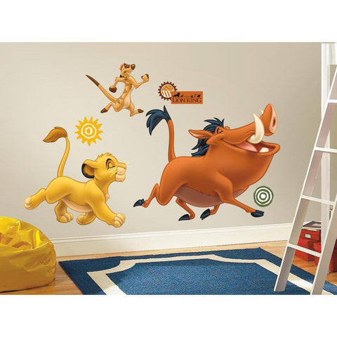 The Lion King Peel & Stick Giant Wall Decals - EonShoppee