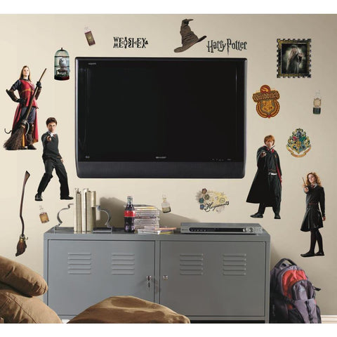 Harry Potter Peel And Stick Wall Decals - EonShoppee